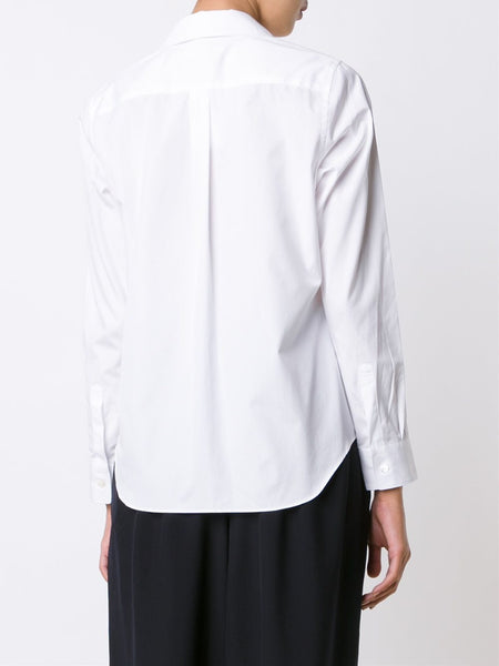 Scalloped Placket Shirt | RR-B028-051