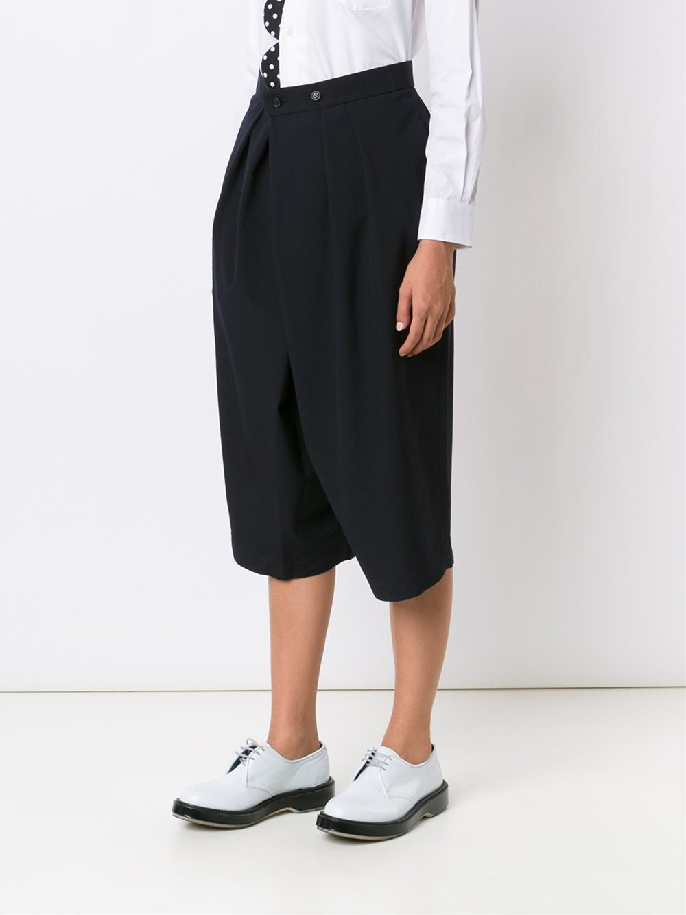 Cropped Pleated Trouser | RR-P030-051