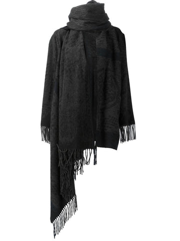 Scarf-Neck Wrap | S26AM0122 S47130