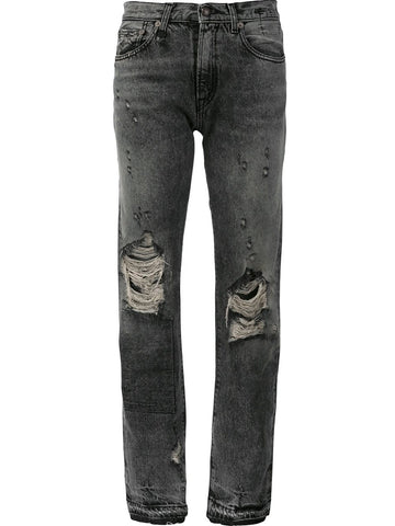 Distressed Straight Leg Jean | R13W0189-200