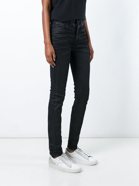 Waxed Skinny Jeans | OWCE024F16150142