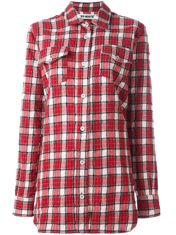 Graphic Plaid Shirt | OWGA014F16291080