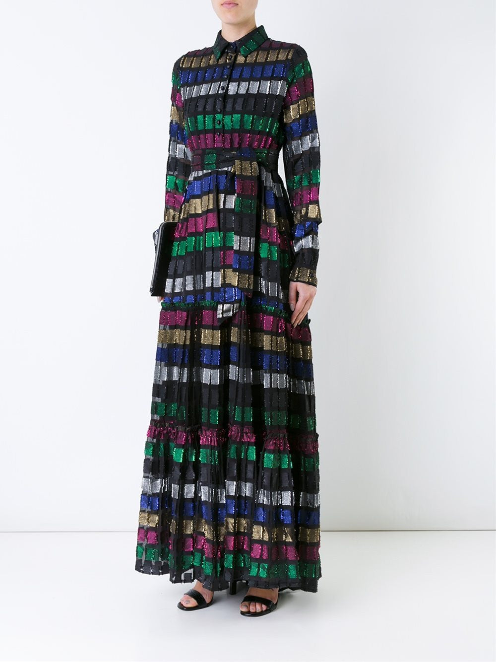 Long Sleeve Maxi Dress | DBO-145