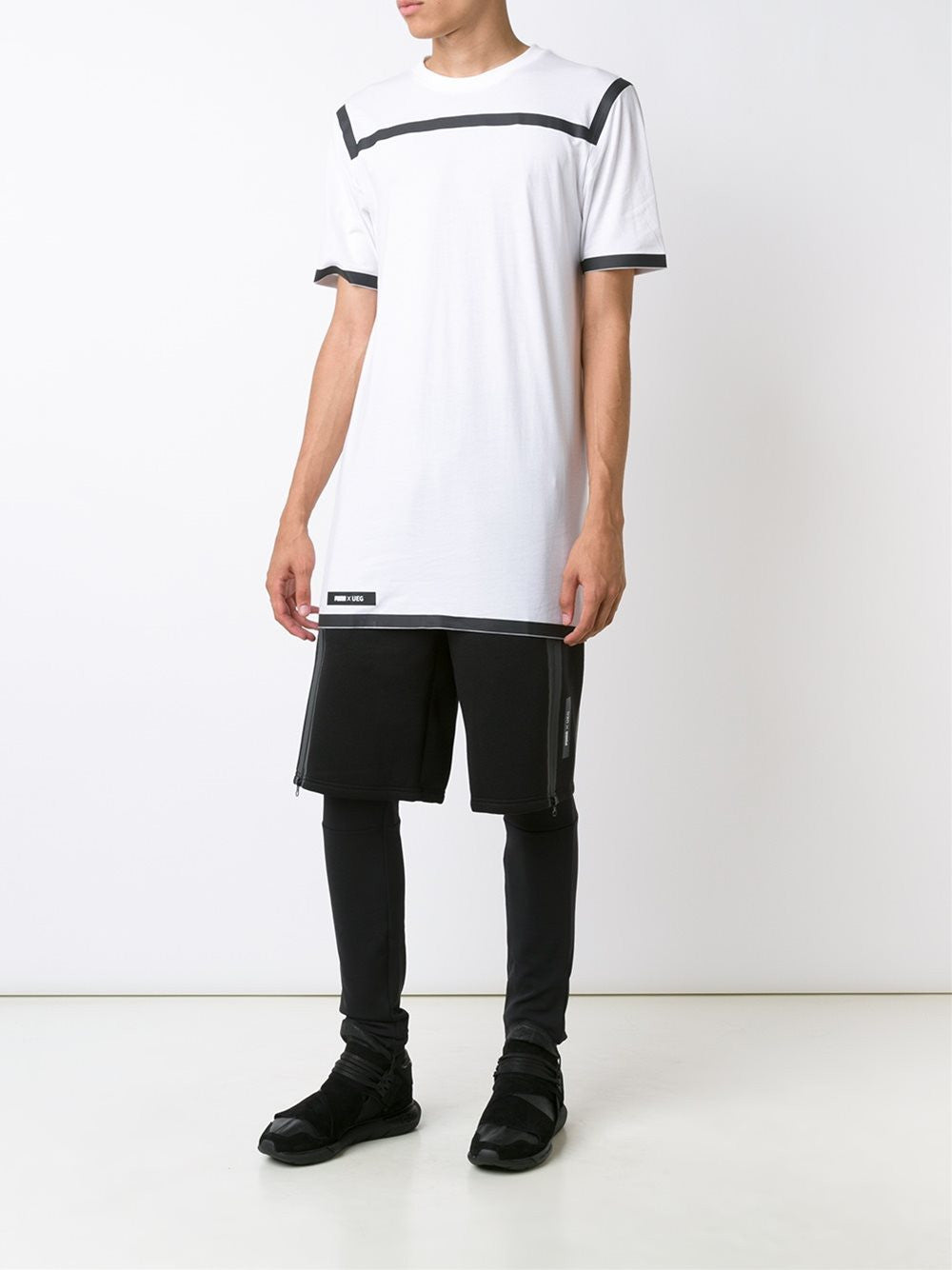 Layered Short | 57171401 BLK / PUMA X UEG