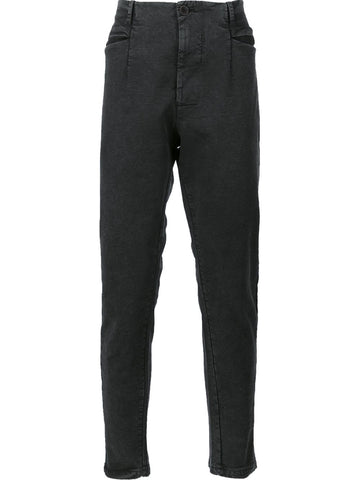 Waxed Cotton-Linen Pant | CFUTRAB110S