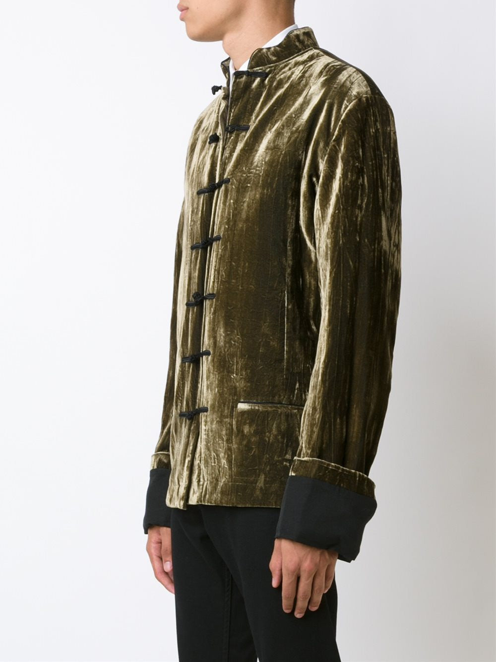 Crushed Velvet Tang Jacket | 164-3014-191