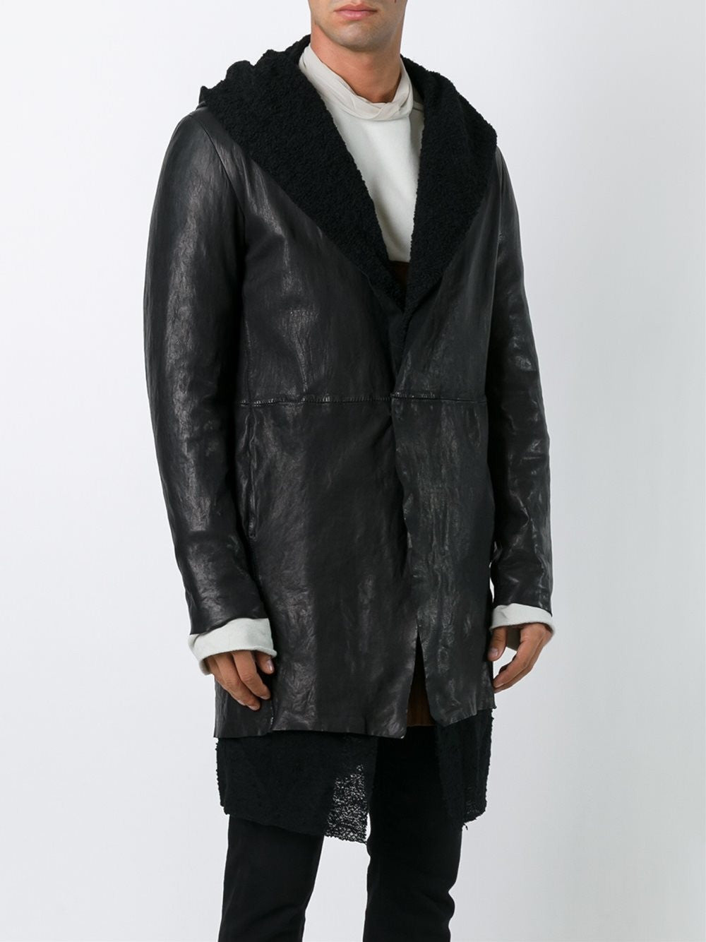 Leather Coat | 3175-U LAD
