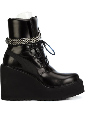 Sneaker Boot Wedge | 363039 SNEAKER BOOT WEDGE