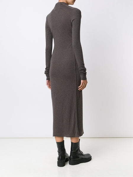 Draped Neck Dress | LI16F1514-R