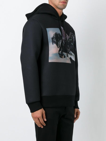 Collage Graphic Hoodie | BJS143I-B548S