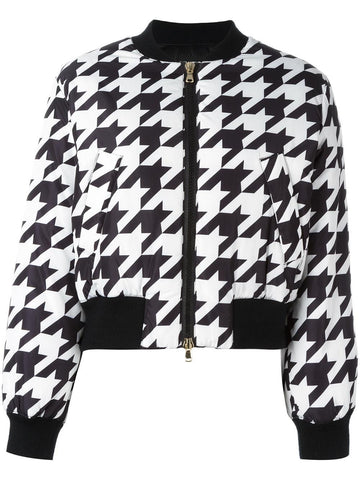 Houndstooth Bomber | 0602-5881