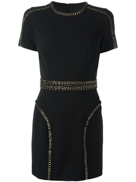 Sequined Trim Dress | S72CU0394-S42915