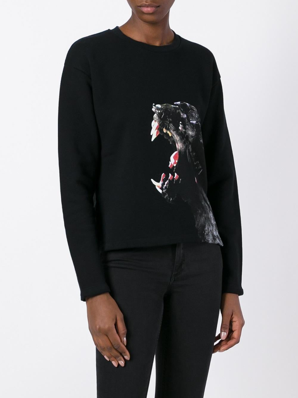 Panther Graphic Sweatshirt | CWBA013F16329247