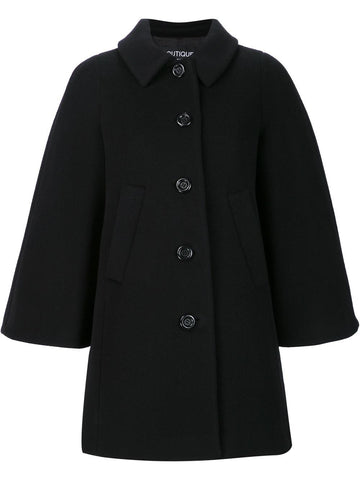Caped Wool Coat | 0610-5815