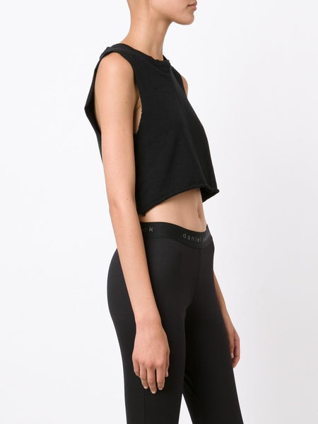 Cropped Sleeveless Top | 15010610 KNOMAD CROP SWEAT S/L
