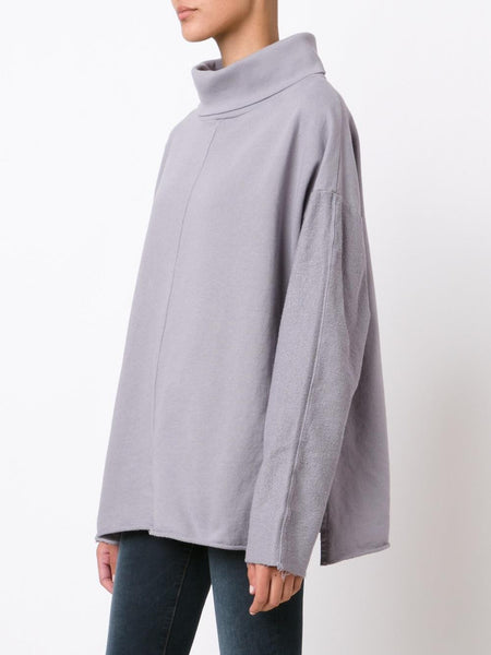 Relaxed Turtleneck Pullover | KDP-15010807 TURTLE NECK SWEAT