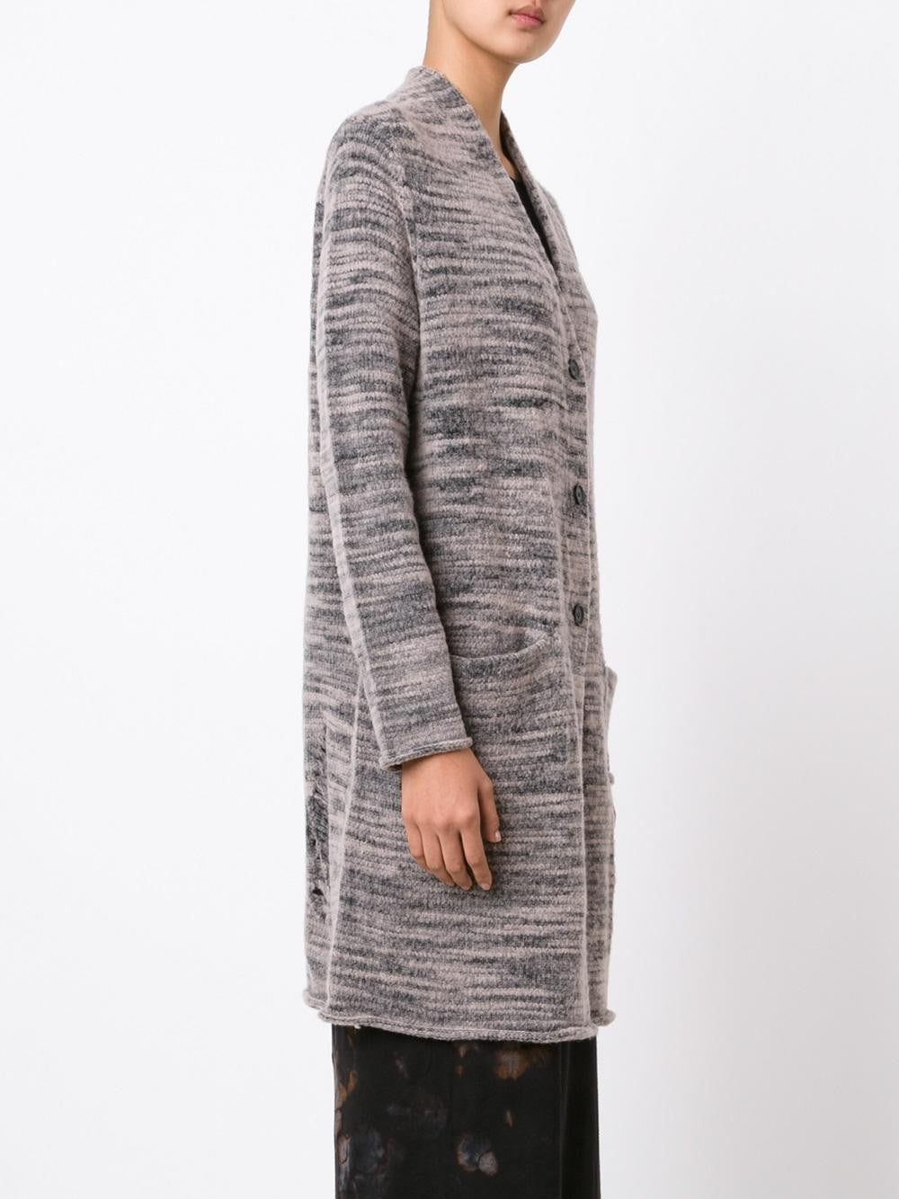 Long Melangé Cardigan | Y66-6453