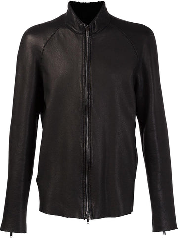 Zipped Leather Jacket | 3171-U ARI