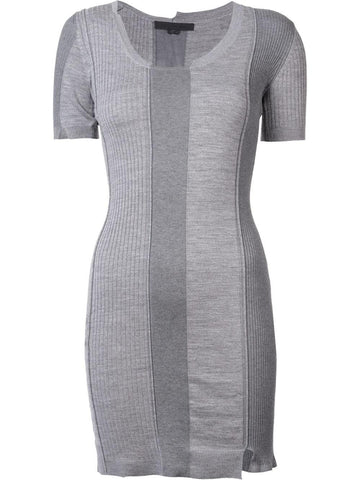 Ribbed Merino Dress | 116081F16
