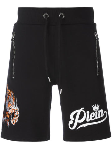 Embroidered Tiger Short | MJT_0039PJO002N