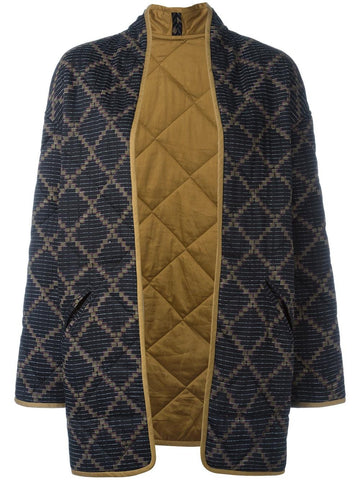 Quilted Daca Coat | DACA VE0593-17P003E