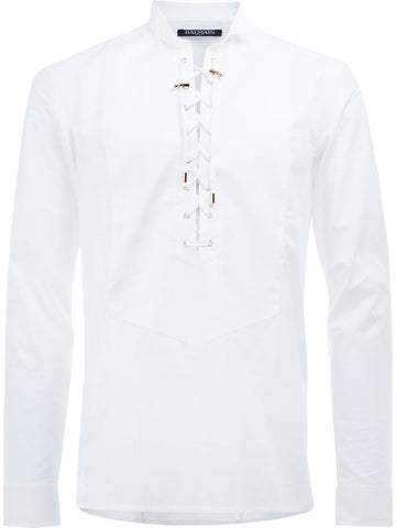 Laced Cotton Shirt | S7H1019T050