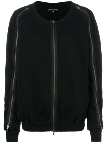 Embroidered Zipped Sweatshirt | 1701-2410-P-227