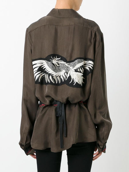 Embroidered Patch Shirt | 1701-2012-P-161