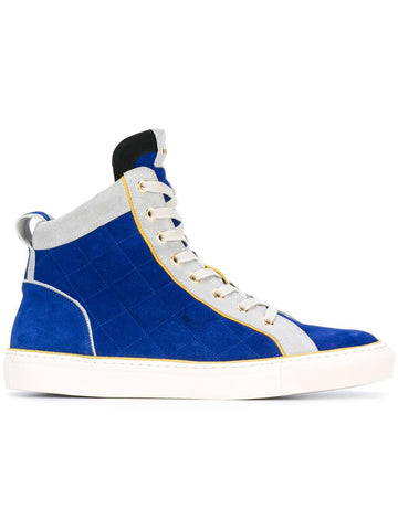 Quilted Suede Hi-Top | S7HA302P039