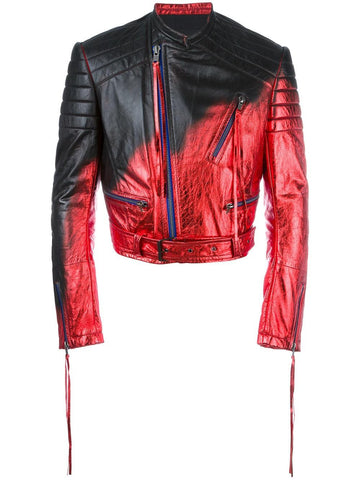Degradé Leather Jacket | 173-3020-574