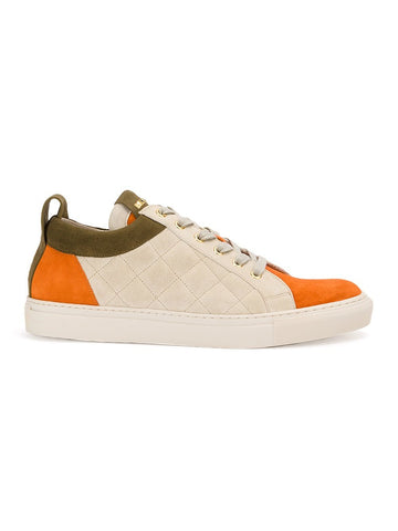 Quilted Suede Sneaker | S7HA303P039