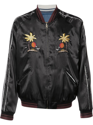 Embroidered Bomber | 17SHTGI031 LA BOMBER