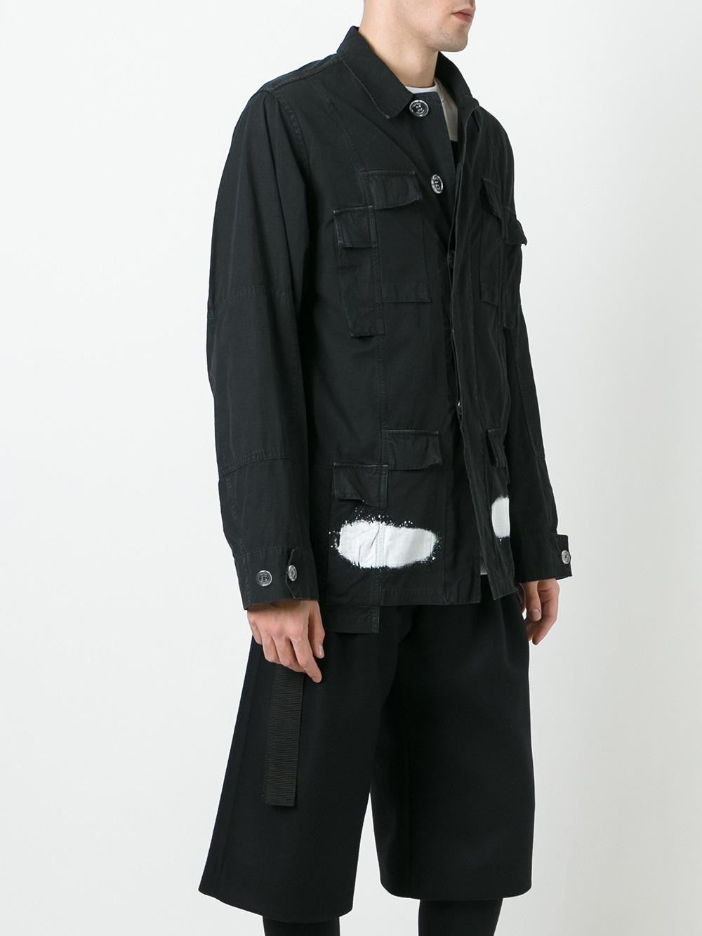 Deconstructed Field Jacket | OMEA069S17026013 DIAGSPRYFLD