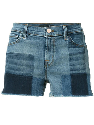 Wash Paneled Jean Shorts | JB000493 1044