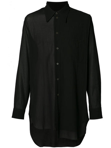 Semi-Sheer Shirt | 1707-3604-135
