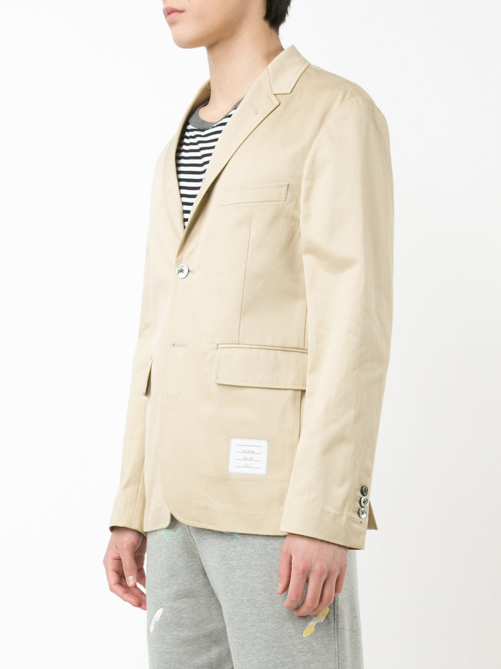 Cotton-Twill Blazer | MJU426A-01443 250