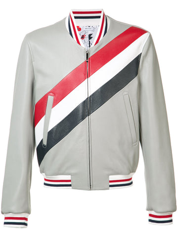 Striped Deerskin Jacket | MJU436A-00713-055