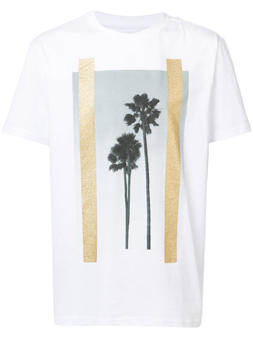 Palm Graphic Tee | PMAA001S17084007 PALMS