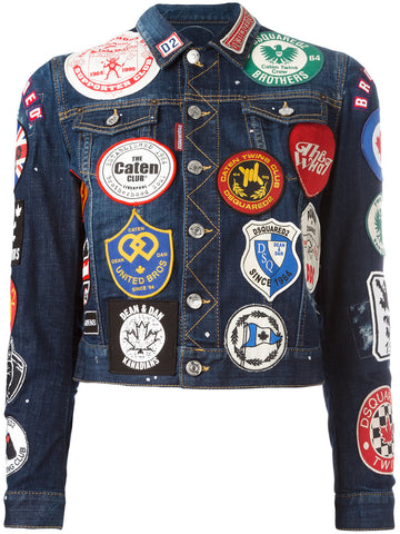 Denim Patches Jacket | S72AM0509-S30342