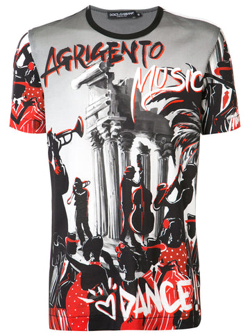 Agrigento Music Tee | G8GY3T-HP7DC