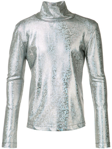 Metallic Turtleneck | MA1288 DOLCEVITA LAME