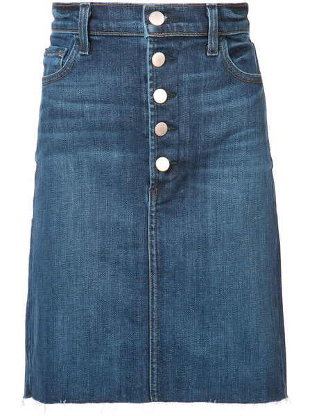 Highrise Denim Skirt | JB000625 ROLEEN