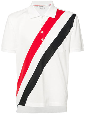 Striped Piqué Polo | MJP022B-01455-960