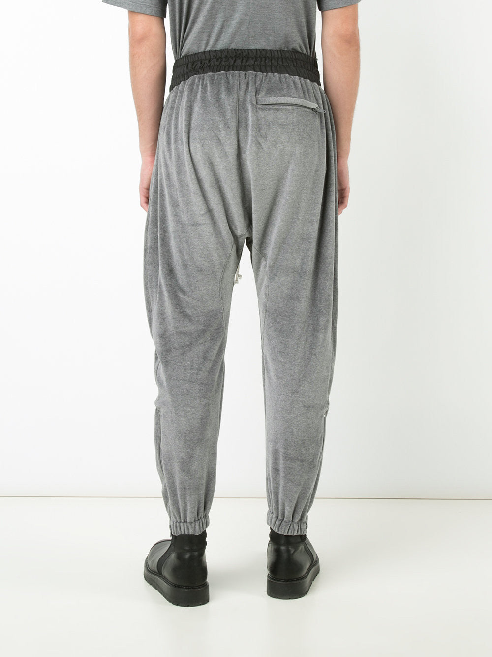 Velour Track Pant | 170101007 GRY VLR TRACK PANT
