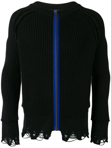Zipped Ribbed Knit | 173-4008-260