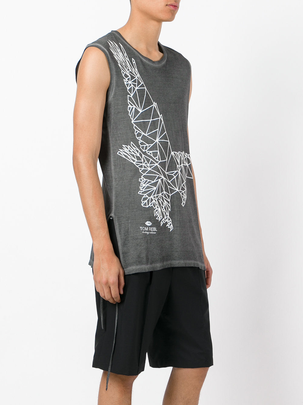 Sleeveless Graphic Tee | TU0638/2498S20P