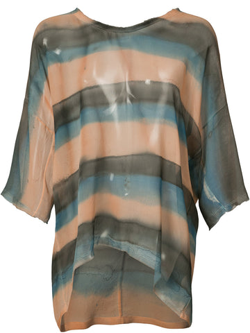 Relaxed Silk Top | 6537 RELAXED