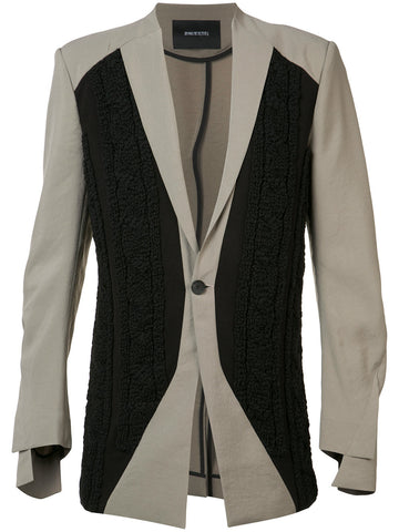 Cable-Knit Blazer | 17SSBMJK--04