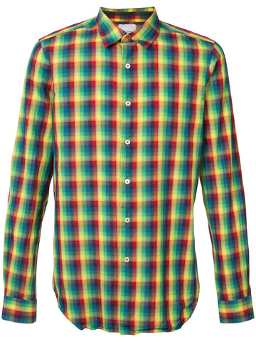 Cotton Plaid Shirt | PSXC 006L X41