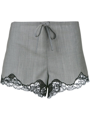 Lace Trim Shorts | 103756S17 FB1331S17